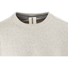 super.natural M's Vacation Knit Crew Grey Melange